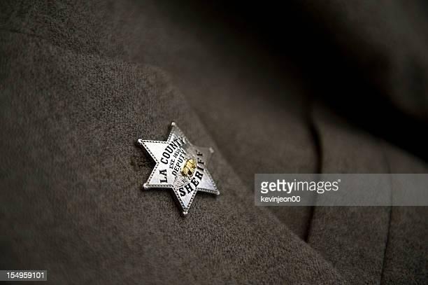 保安官バッジ - 保安官 ストックフォトと画像