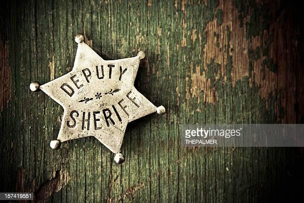 o xerife crachá - distintivo de polícia - fotografias e filmes do acervo