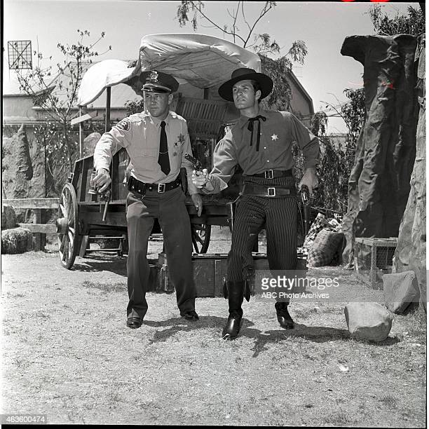 EARP Sheriff Don Meade Set Advisor Shoot Date May 5 1957 DON MEADE AND HUGH O