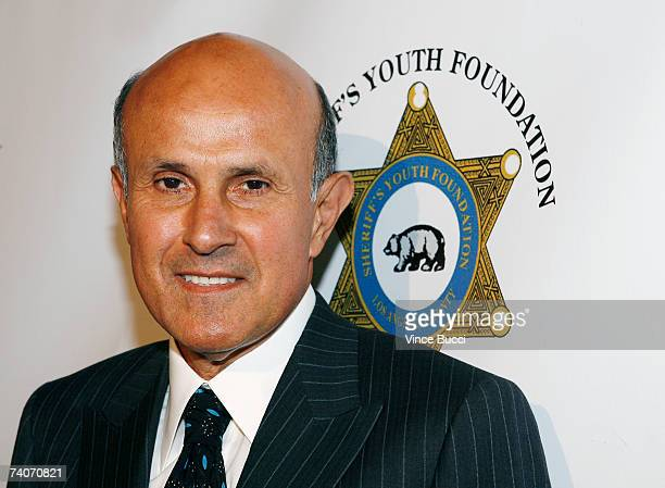 Sheriff Leroy Baca attends the Los Angeles County Sheriff's Youth Foundation's annual Salute To Youth benefit dinner honoring producers Jon and Mindy...