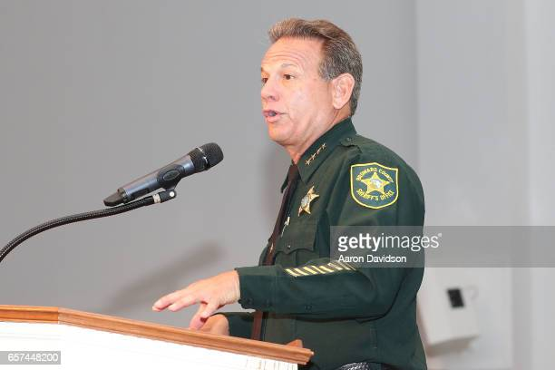 Sheriff Scott Israel attends An Afternoon With Habitat for Humanity and Secretary Ben Carson on March 24 2017 in Pompano Beach Florida