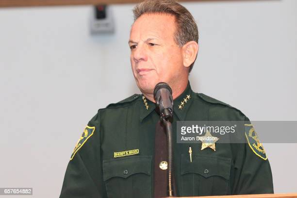 Sheriff Scott Israel attends Secretary Ben Carson and Governor Rick Scott Celebrate Habitat for Humanity of Broward's New Rick Case Habitat Community...