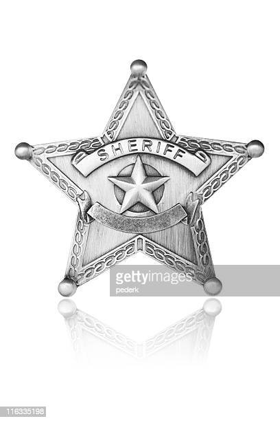 sheriff star - sheriff stock pictures, royalty-free photos & images