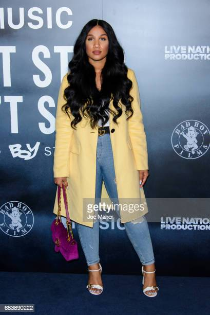 Sherlina Nyame attends the London Screening of Can't Stop Won't Stop A Bad Boy Story at The Curzon Mayfair on May 16 2017 in London England