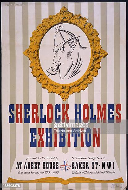 Sherlock Holmes exhibition in association with the Festival of Britain 1951
