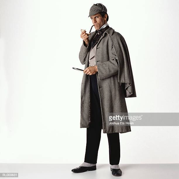 sherlock holmes - detective stock pictures, royalty-free photos & images
