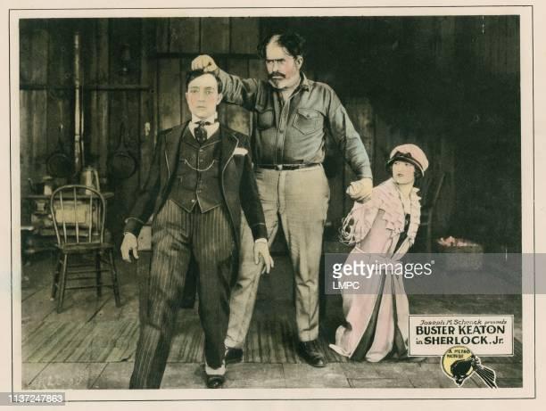 Sherlock Jr lobbycard Buster Keaton Kathryn McGuire 1924
