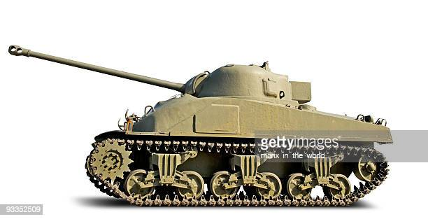 sherman  firefly tank - armored tank stock photos and pictures