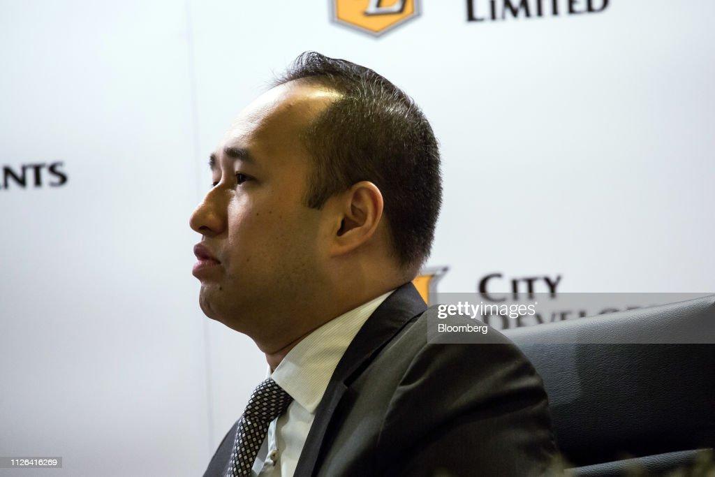 SGP: City Developments Ltd. Chairman Kwek Leng Beng Attends Earnings News Conference