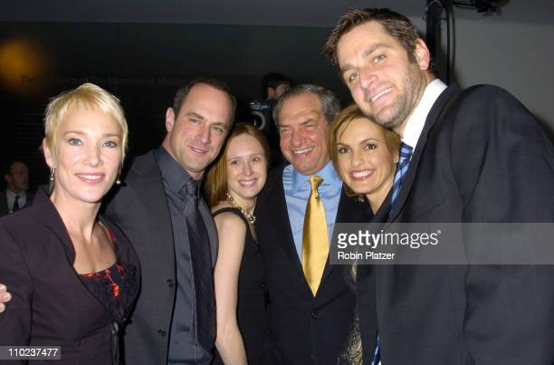 Sherman Williams Christopher Meloni Noelle Lippman Dick Wolf Mariska Hargitay and husband Peter Hermann