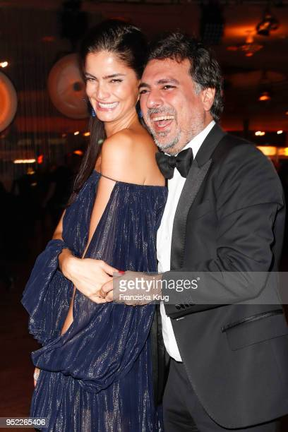 Shermine Shahrivar and Shan Rahimkhan during the Lola German Film Award Party at Palais am Funkturm on April 27 2018 in Berlin Germany
