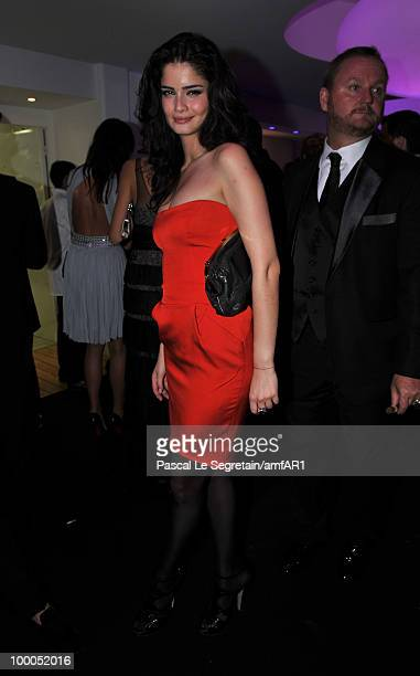 Shermine Shahrivar attends amfAR's Cinema Against AIDS 2010 benefit gala after party at the Hotel du Cap EdenRoc on May 20 2010 in Antibes France