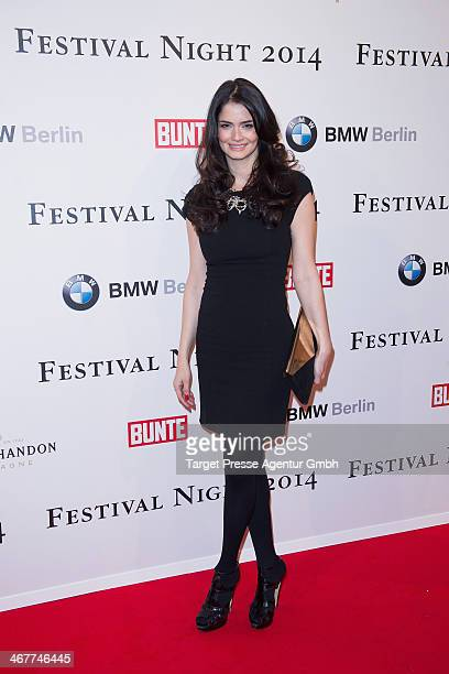 Shermine Sharivar attends the Bunte BMW Festival Night 2014 at Humboldt Carree on February 7 2014 in Berlin Germany
