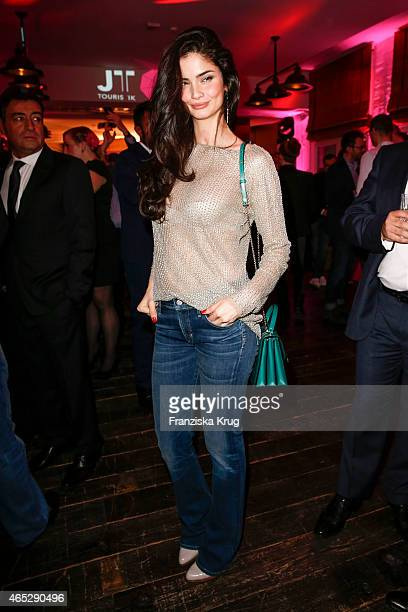 Shermine Sharivar attends the JT Touristik Celebrates ITB Party on March 05 2015 in Berlin Germany