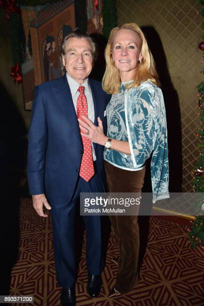 Sherrell Aston and Muffie Potter Aston attend A Christmas Cheer Holiday Party 2017 Hosted by George Farias Anne and Jay McInerney at The Doubles Club...