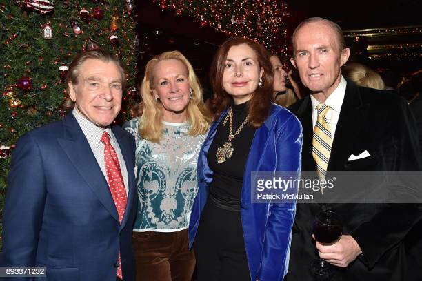 Sherrell Aston Muffie Potter Aston Sana Sabbagh and Mark Gilbertson attend A Christmas Cheer Holiday Party 2017 Hosted by George Farias Anne and Jay...