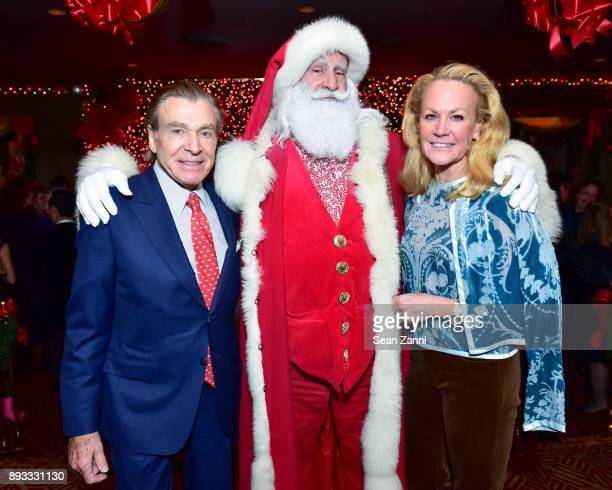 Sherrell Aston Santa Claus and Muffie Potter Aston attend A Christmas Cheer Holiday Party 2017 Hosted by George Farias and Anne and Jay McInerney at...