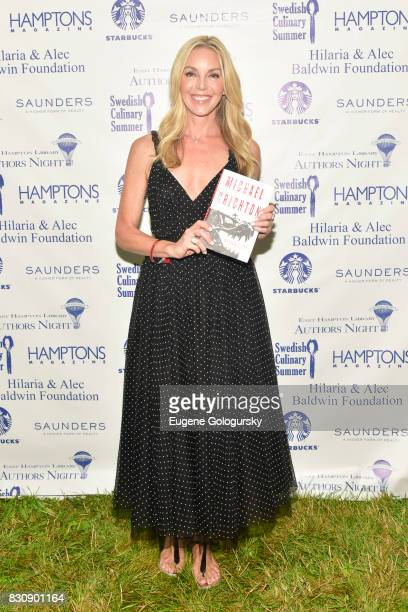 Sherri Chrichton attends Authors Night 2017 At The East Hampton Library at The East Hampton Library on August 12 2017 in East Hampton New York