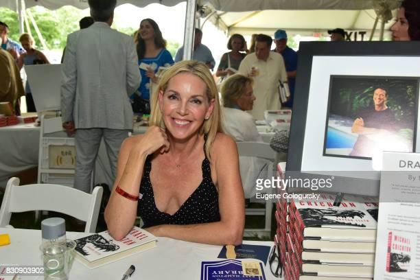 Sherri Chrichton attends Authors Night 2017 At The East Hampton Library at The East Hampton Library on August 12 2017 in East Hampton New York