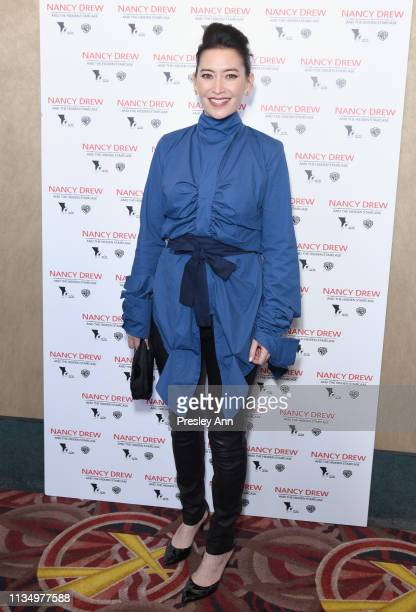 Sherri Chung attends the red carpet premiere of 'Nancy Drew and the Hidden Staircase' at AMC Century City 15 on March 10 2019 in Century City...