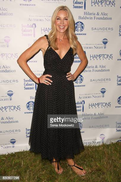 Sherri Crichton attends Author's Night 2017 to benefit the East Hampton Library on August 12 2017 in East Hampton New York