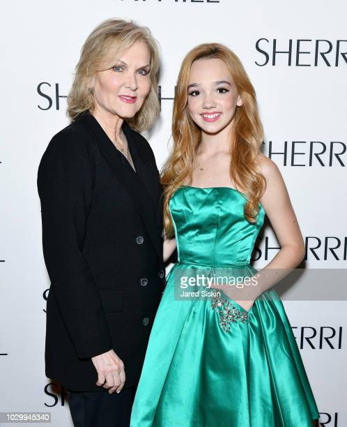 Sherri Hill and Ruby Jay attend the Sherri Hill Spring 2019 NYFW Backstage at Gotham Hall on September 7 2018 in New York City