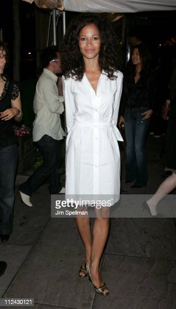 Sherri Saum during 'Rescue Me' Season Three DVD Laucnh Party at Bryant Park in New York City New York United States