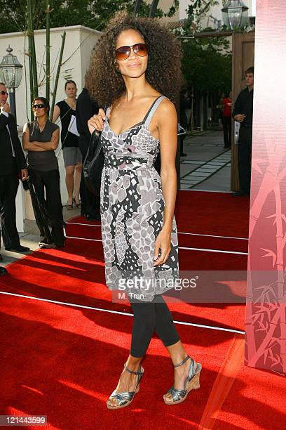 Sherri Saum during SOAPnet Hosts 'Night Before' Party for the 2007 Daytime Emmy Award Nominees at Boulevard3 in Hollywood California United States