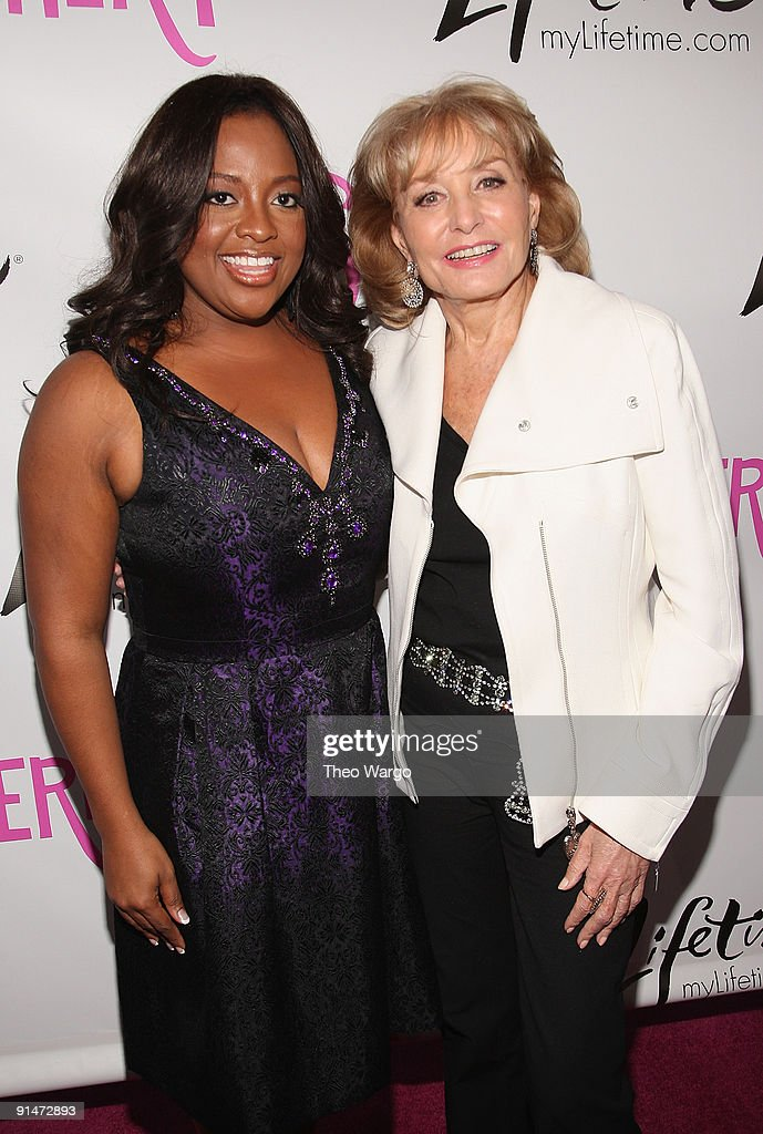 Sherri Shepherd and Barbara Walters attend the Launch Party for new sitcom 'Sherri' at the Empire Hotel on October 5, 2009 in New York City.