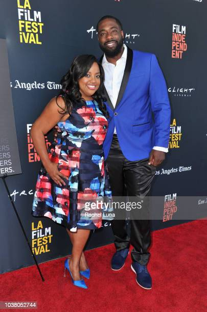 Sherri Shepherd and Brian Banks attend the screening of Brian Banks during the 2018 LA Film Festival at ArcLight Culver City on September 22 2018 in...