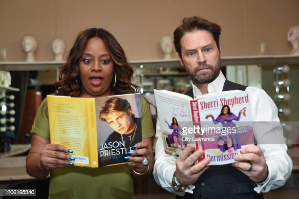 "Sherri Shepherd and Jason Priestley attend The Groundlings Theatre In LA Hosts ""Celebrity Autobiography"" at The Groundlings Theatre on February 11,..."