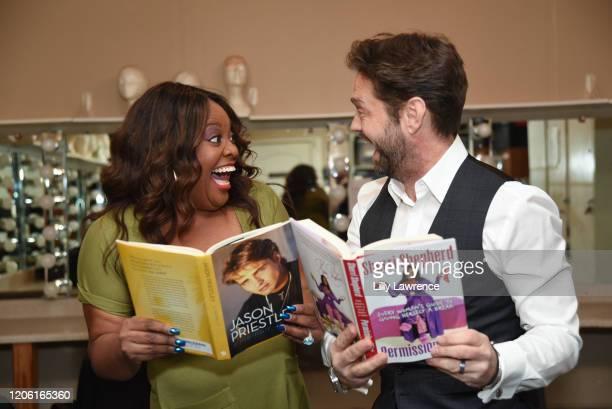 "Sherri Shepherd and Jason Priestley attend The Groundlings Theatre In LA Hosts ""Celebrity Autobiography"" at The Groundlings Theatre on February 11,..."