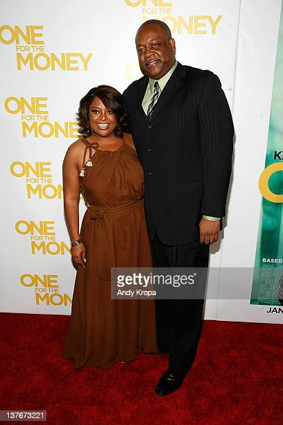 Sherri Shepherd and Lamar Sally attend the One for the Money premiere at the AMC Loews Lincoln Square on January 24 2012 in New York City