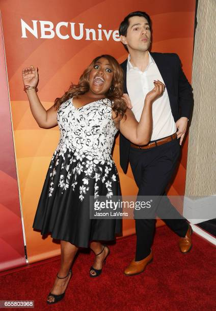 Sherri Shepherd and Nicholas D'Agosto attend the 2017 NBCUniversal summer press day The Beverly Hilton Hotel on March 20 2017 in Beverly Hills...