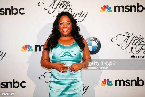 Sherri Shepherd arrives at the MSNBC Afterparty following the White House Correspondents' Association dinner on May 1 2010 in Washington DC The...