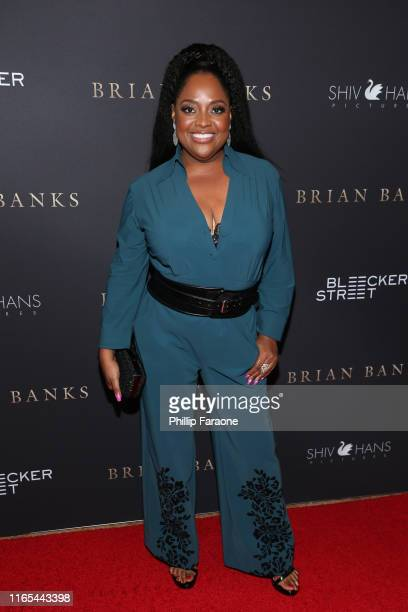 Sherri Shepherd attends the Los Angeles special screening of Bleeker Street's Brian Banks at Edwards Long Beach Stadium 26 IMAX on July 31 2019 in...