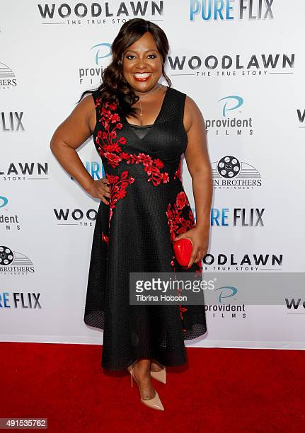 Sherri Shepherd attends the LA premiere of 'Woodlawn' at Regency Bruin Theater on October 5 2015 in Westwood California