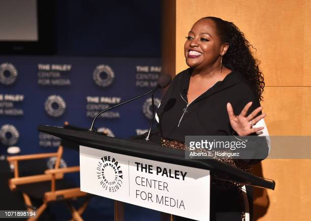 Sherri Shepherd speaks onstage during WE tv celebrates the return of Love After Lockup with panel Real Love Relationship Reality TV's Past Present...