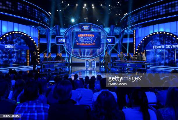 FEUD Sherri Shepherd vs Ian Ziering and Tommy Chong vs Derek Fisher Gloria Govan The celebrity teams competing to win cash for their charities...