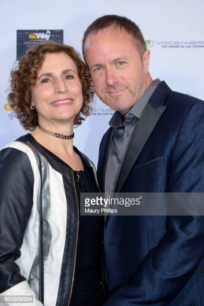 Sherrie Rose and John Halpin arrive at the 1st Annual Influencers Unite Gala and Eric Zuley birthday celebration on March 18 2017 in Dana Point...