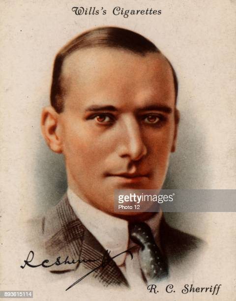 RC Sherriff English playwright novelist and scriptwriter born Kingston upon Thames Surrey Best known for his play 'Journey's End' an account of life...
