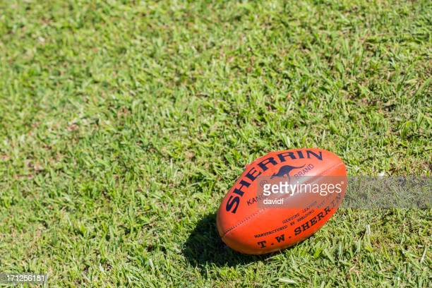 sherrin afl football - afl stock pictures, royalty-free photos & images