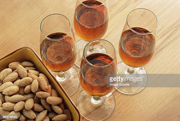 Sherry and almonds