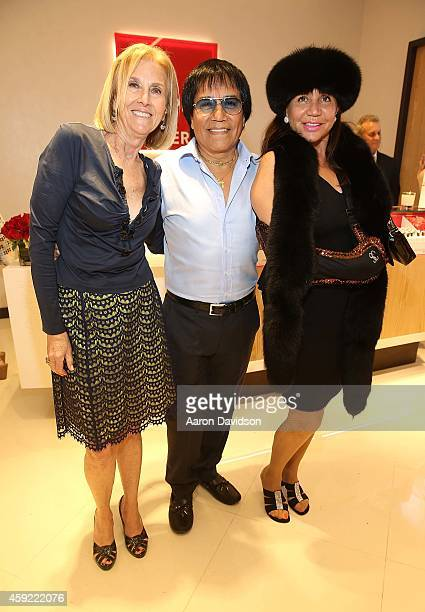 Sherry Baker Nelson Coba and Jacqueline Silverman attends Grand Opening of European Wax Center Aventura at Europen Wax Center on November 18 2014 in...