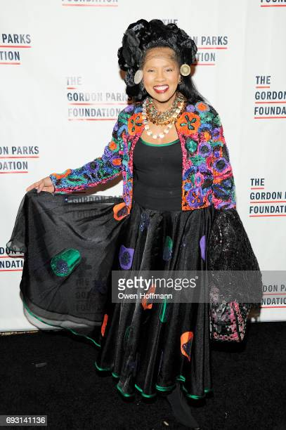 Sherry Bronfman attends the Gordon Parks Foundation Awards Dinner Auction at Cipriani 42nd Street on June 6 2017 in New York City