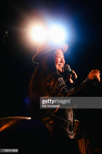 Sherry Cola performs at Rockwell Table and Stage on December 05 2019 in Los Angeles California