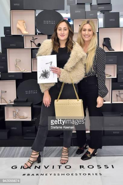 Sherry Farrahi Alisha Schemer attend Georgie Flores Nicole Yoone Zolee Griggs and Barneys New York Celebrate #BarneysShoeStories at Barneys New York...