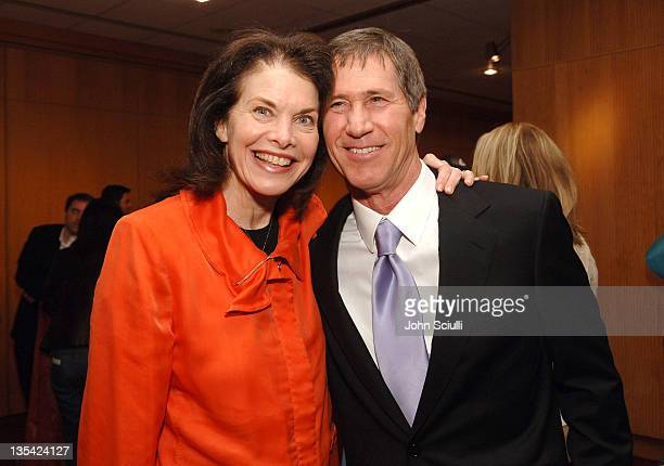 """Sherry Lansing and Jon Feltheimer of Lionsgate during """"Akeelah and the Bee"""" Los Angeles Premiere - After Party at """"Akeelah and the Bee"""" Los Angeles..."""