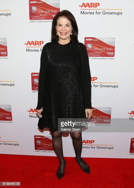 Sherry Lansing attends AARP's 17th Annual Movies For Grownups Awards at the Beverly Wilshire Four Seasons Hotel on February 5 2018 in Beverly Hills...