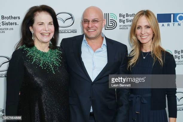 Sherry Lansing Chris Silberman and Dana Walden attends Big Brothers Big Sisters Of Greater Los Angeles Big Bash Gala arrivals at The Beverly Hilton...